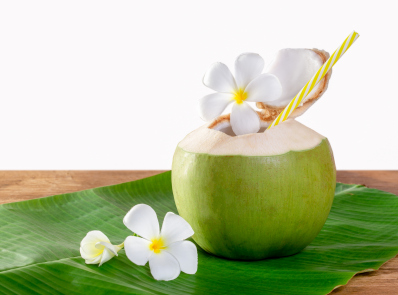 Coconut Water Benefits: 10 Reasons You Should Drink This Water Daily background image