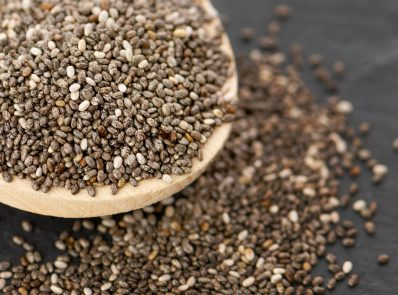 9 Incredible Health Benefits of Chia Seeds background image